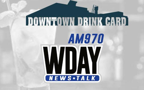 2017-2018 WDAY Downtown Drink Card