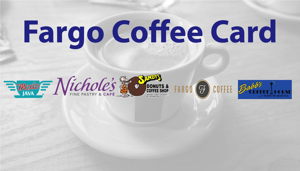 2018-2019 WDAY Fargo Coffee Card