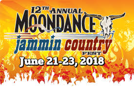 12th Annual Moondance Jammin' Country Fest (2-Day General Admission)