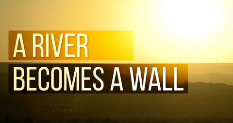 """A River Becomes a Wall"" DVD"