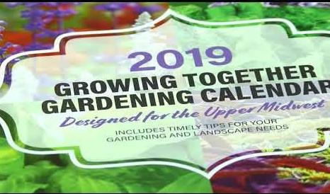 "2019 ""Growing Together Gardening Calendar"""