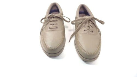 cfcd917ede7fe6 SCHOLLS Mens Shoes Size 11 Comfy TAUPE Tie Up Oxfords - Maggie and Sister