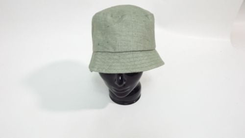 4c2db43b8 LORD & TAYLOR womens Olive 100% Linen Light Weight BUCKET Hat One Size New