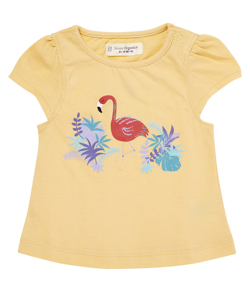 f41fb0dfa Sense Organics - Organic Cotton Short Sleeve Baby Girl T-Shirt ...