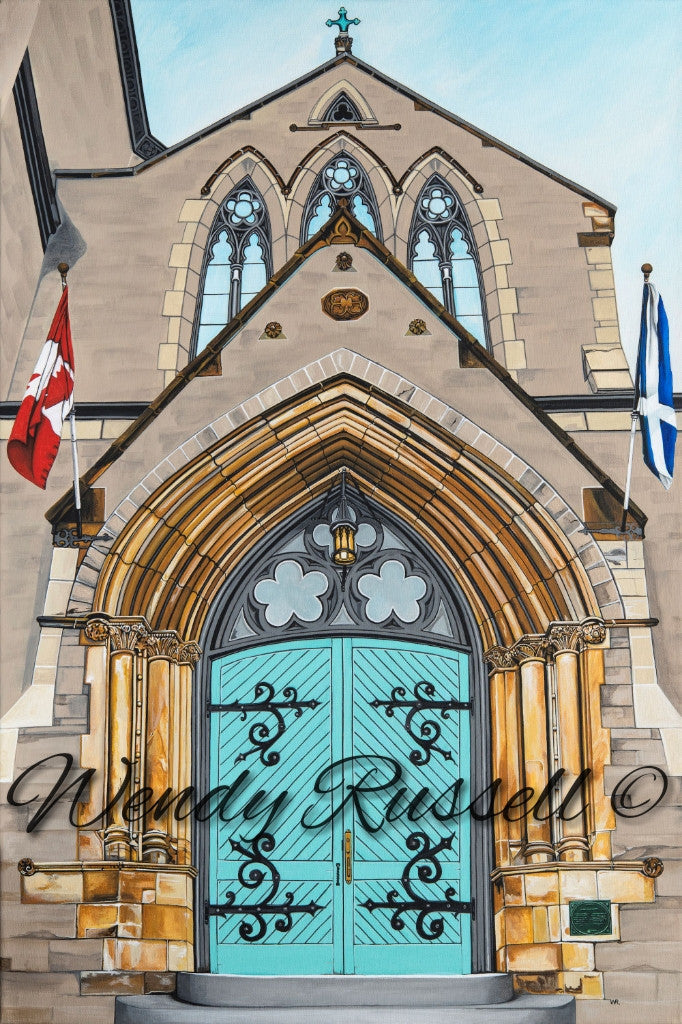 St. Andrew's Presbyterian Church, Ottawa - Prints Available