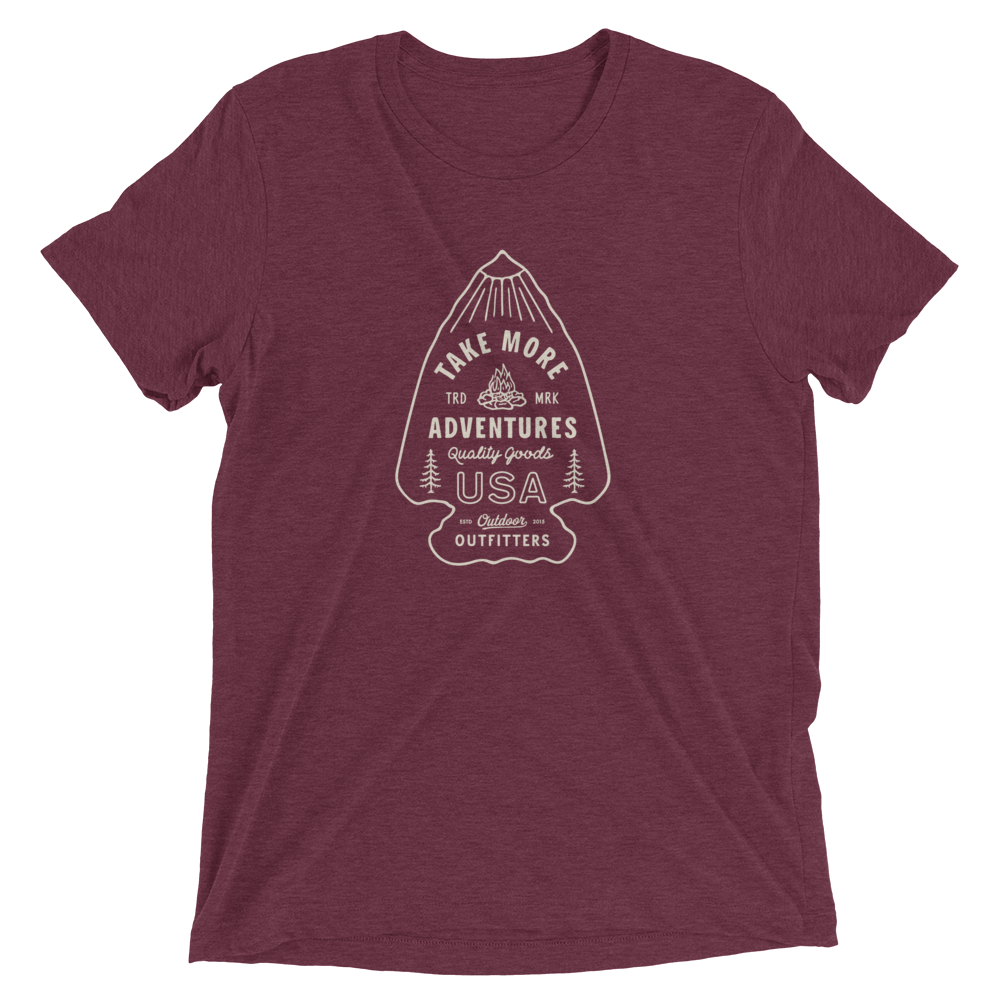 "The ""Arrowhead"" T-Shirt (Maroon)"
