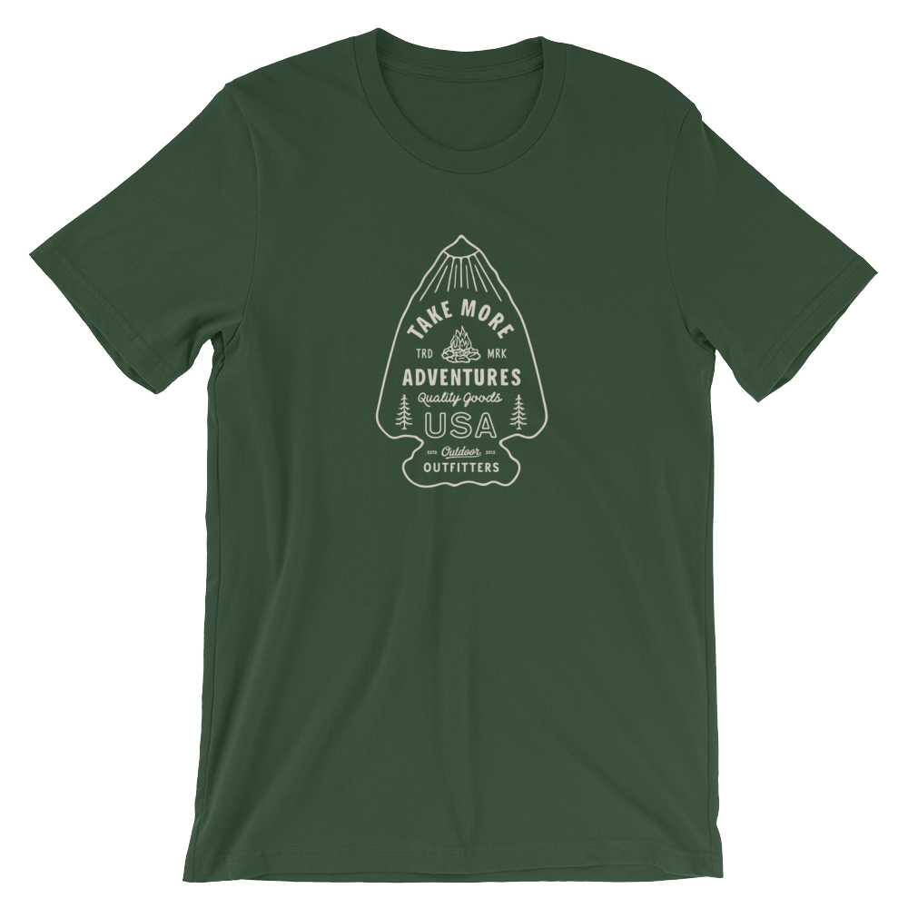 "The ""Arrowhead"" T-Shirt (Forest)"