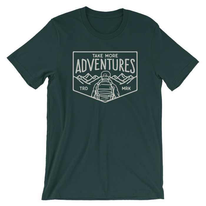 "The ""Mountain View"" T-Shirt (Forest)"