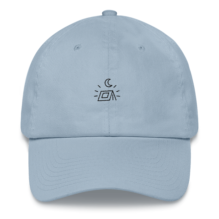 "The ""Happy Campers"" Minimal Dad Hat"