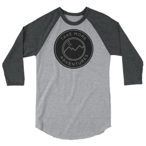 "TMA ""Classic"" - 3/4 Sleeve Shirt (Heather Grey/Heather Charcoal)"
