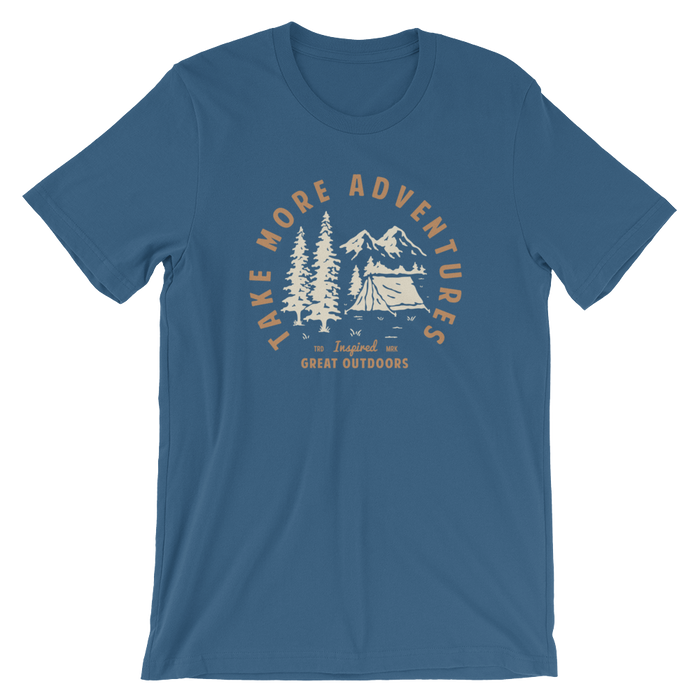 "The ""Great Outdoors"" T-Shirt (Steel Blue)"