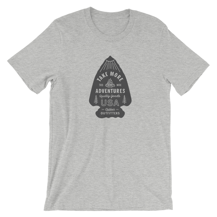 "The ""Arrowhead"" T-Shirt (Heather Gray)"