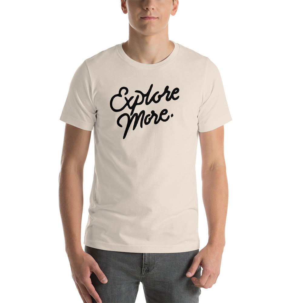 "The ""Explore More"" T-Shirt (Cream)"