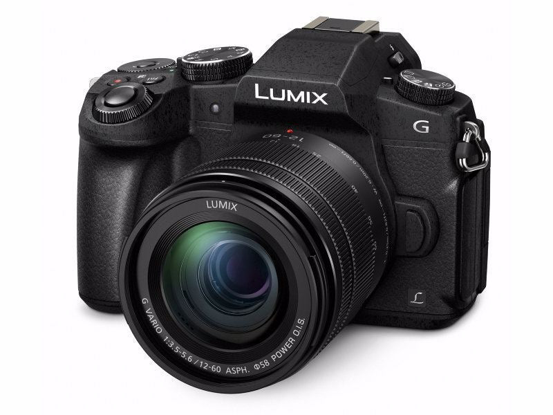 PANASONIC Lumix G80 Sort 12-60mm