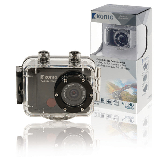 König Actioncamera CSAC300 Full HD-actionkamera, 1080p, vanntett