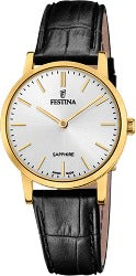 Festina Swiss Made, dame, double, hvit skive F20017-1