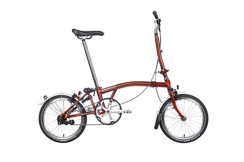 Brompton M6L, Flame Lacquer (6Speed)