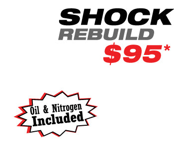 Street Bike Shock Rebuild $95