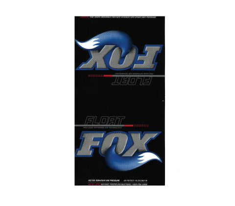 Fox FLOAT Air Sleeve Decal