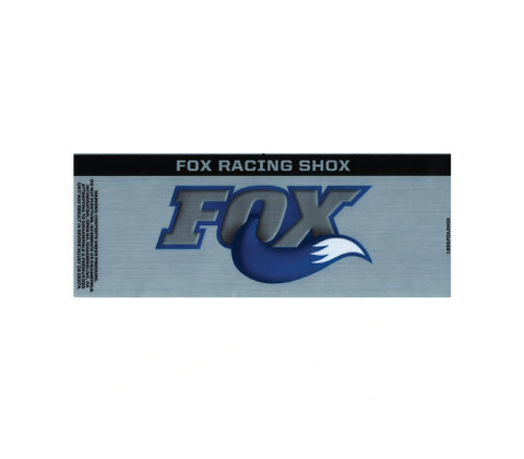 Fox Reservoir Decal