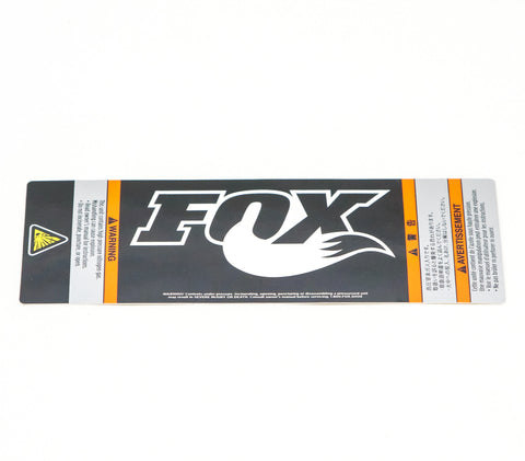 Fox Performance Series Decal, 2.15