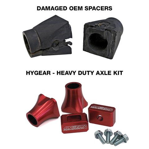 Hygear - Ski-Doo, Heavy Duty Axle Kit, Sport Series