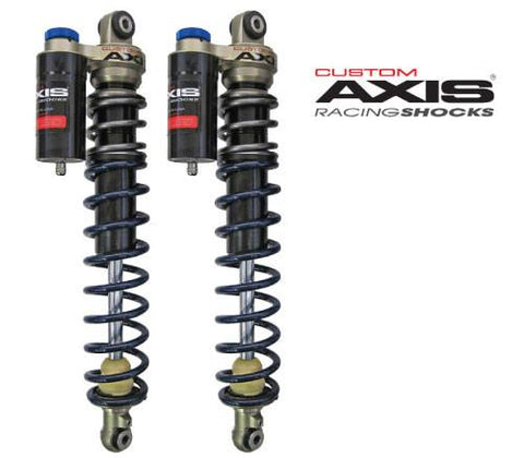 Custom Axis Front Shocks, 2003+ Yamaha RS1, Vector / Warrior / Rage / Apex / Attak / LTX