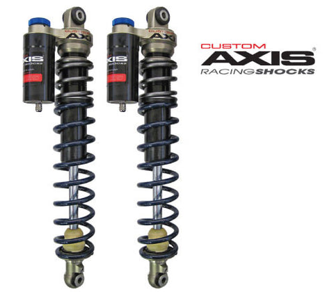 Custom Axis Front Shocks, 2012+ Arctic Cat ZR,F,XF (42 in), 2014+ Yamaha SRViper (42 in) and 2017+ Yamaha Sidewinder (42 in)
