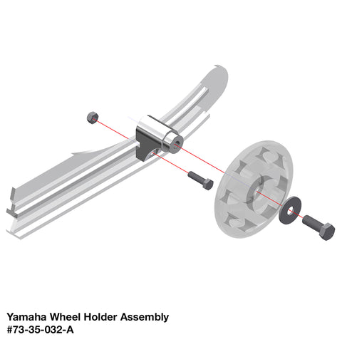Yamaha Wheel Holder Assembly