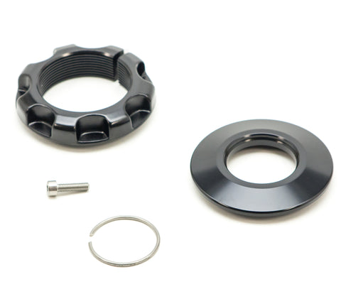 "Fox Spring Hardware Kit, 2.5"" Spring, Pinch Bolt, Black"