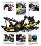 Custom Axis Track Kit, Ski-Doo Renegade r-Motion