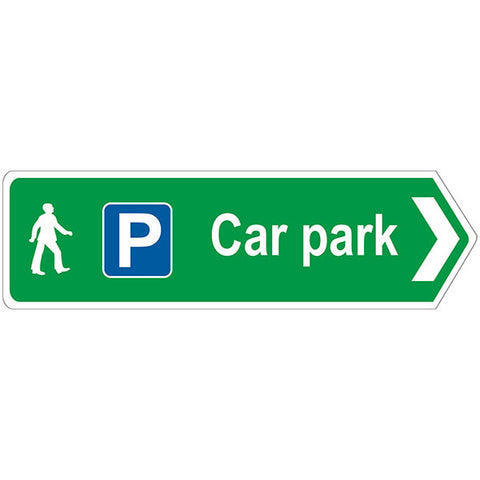 Car Park Sign - Safety Signs & Stickers | Borehamwood Signs