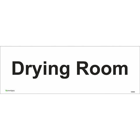 Drying Room Sign - Safety Signs & Stickers | Borehamwood Signs