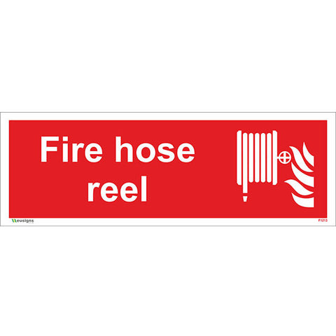Fire Hose Reel Sign - Safety Signs & Stickers | Borehamwood Signs