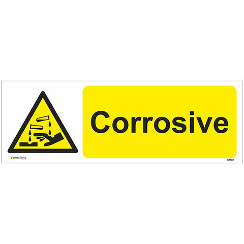 Corrosive Sign - Safety Signs & Stickers | Borehamwood Signs