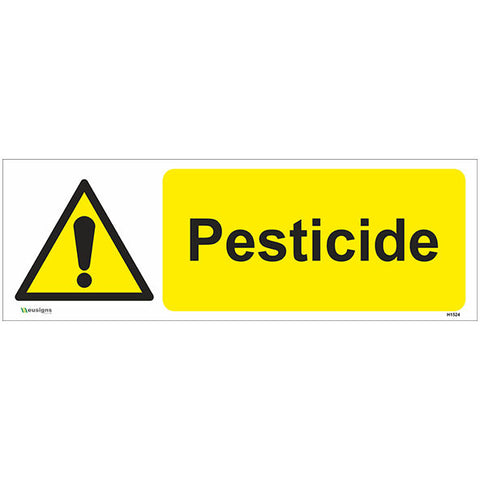 Pesticide Sign - Safety Signs & Stickers | Borehamwood Signs
