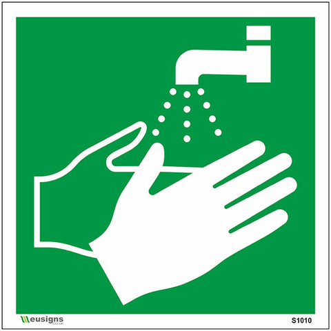 Wash Your Hands Sign - Safety Signs & Stickers | Borehamwood Signs