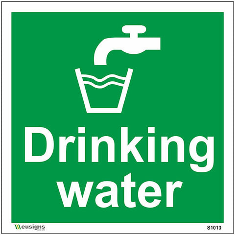 Drinking Water Sign - Safety Signs & Stickers | Borehamwood Signs