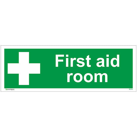 First Aid Room Sign - Safety Signs & Stickers | Borehamwood Signs