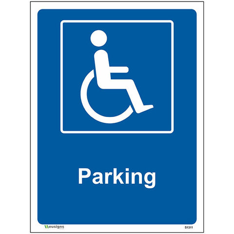 Parking Sign - Safety Signs & Stickers | Borehamwood Signs