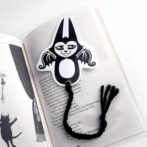 Flying Batcat Bookmark