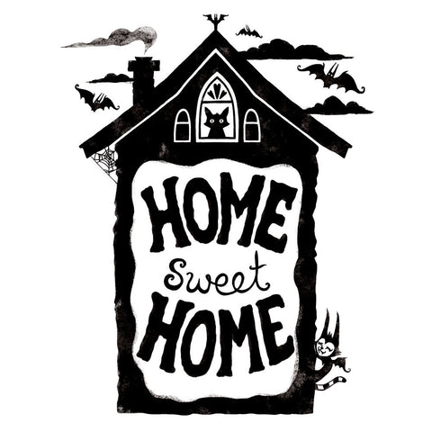 Home Sweet Home - Print on matte paper