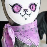 Stuffy Bat - OOAK doll