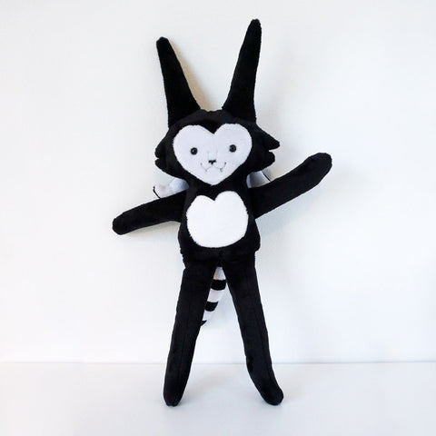 Stuffy Batcat - Super Soft Minkie doll