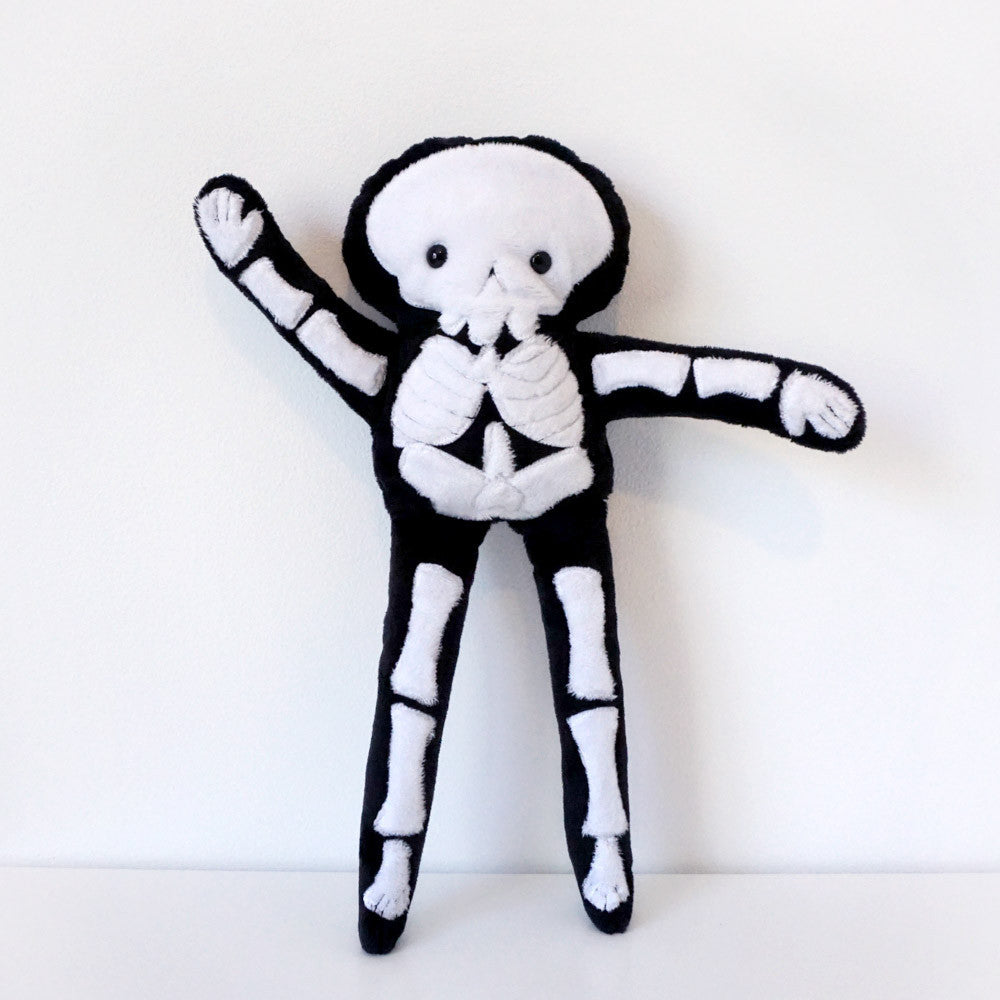 Stuffy Skeleton -Super Soft Minkie