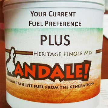 Andale! + your current nutrition