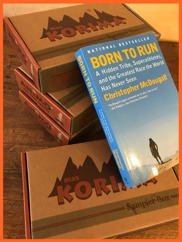 Christmas Gifts for Runners. Holiday Gifts. Mas Korima Pinole. Arnulfo Born to Run. Autographed.