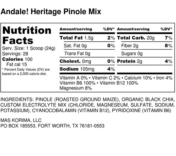 Andale! (28 Serving Tub) - Mas Korima