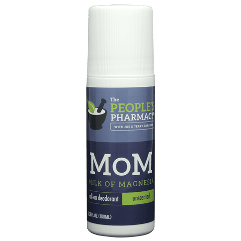 Economy Size Aluminum-Free MoM (Milk of Magnesia) Roll-on Deodorant