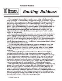 Battling Baldness